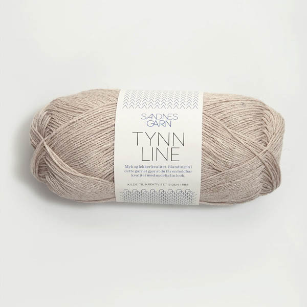 Tynn Line 2331 ljus beige