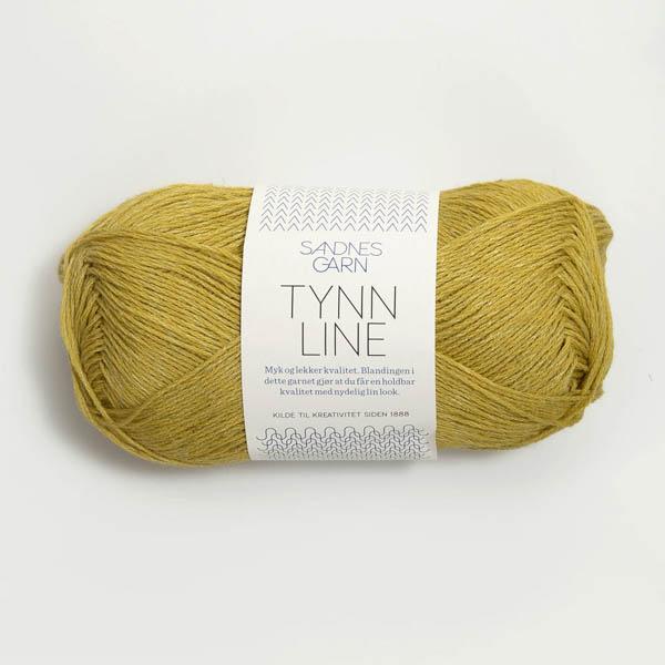 Tynn Line 2024 gulgrön
