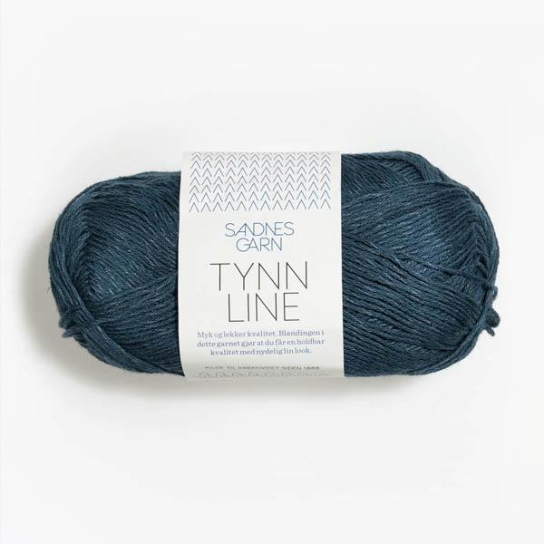 Tynn Line 6364 mörk petrol