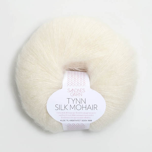 Tynn Silk Mohair 1012 natur