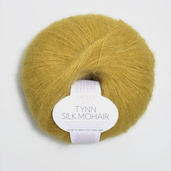 Tynn Silk Mohair 2024 gulgrön