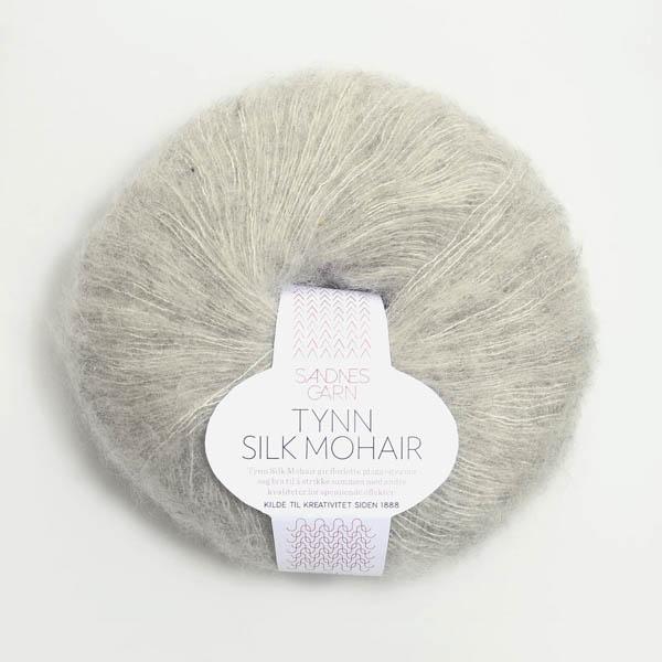 Tynn Silk Mohair 1022 ljusgrå