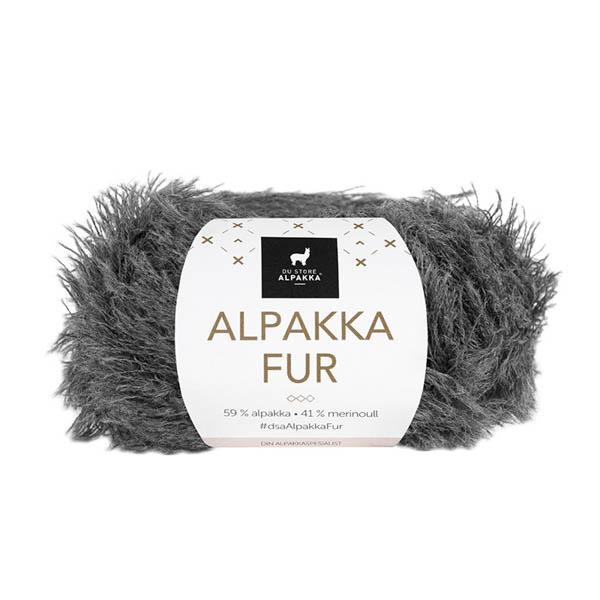 Alpakka Fur 201 grå