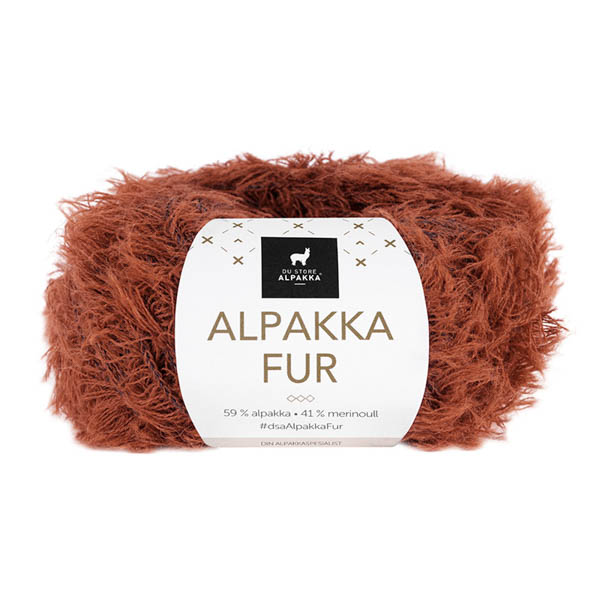 Alpakka Fur 207 terracotta