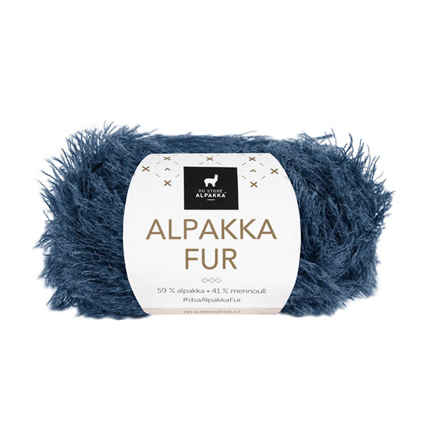 Alpakka Fur 212 denim