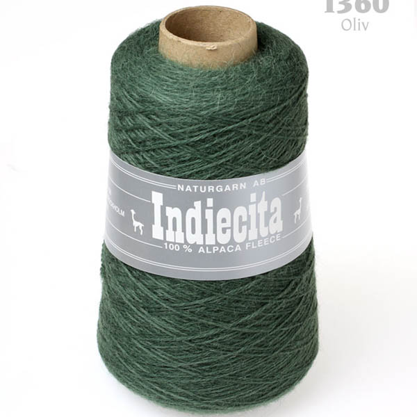 Indiecita kon 1360 oliv