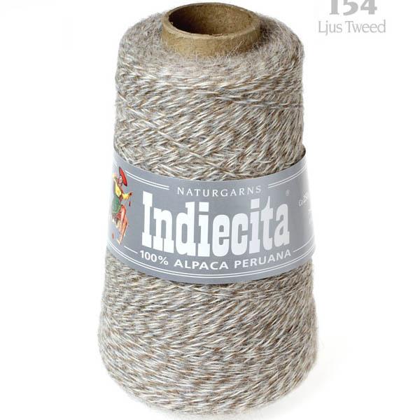 Indiecita kon 154 ljus tweed