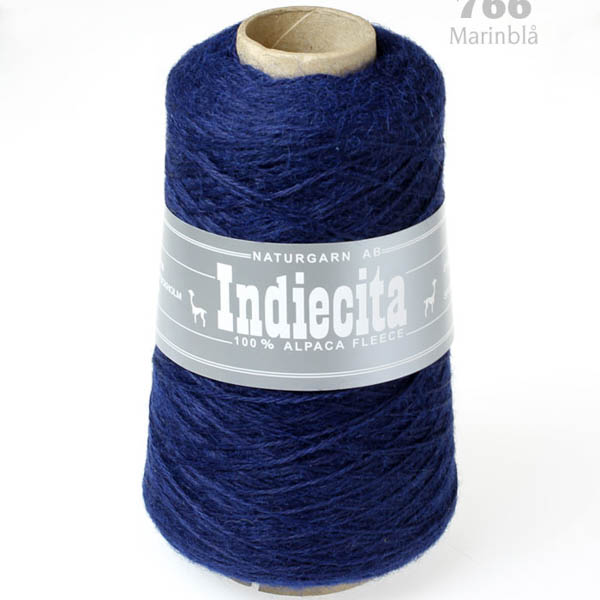 Indiecita kon 766 marinblå