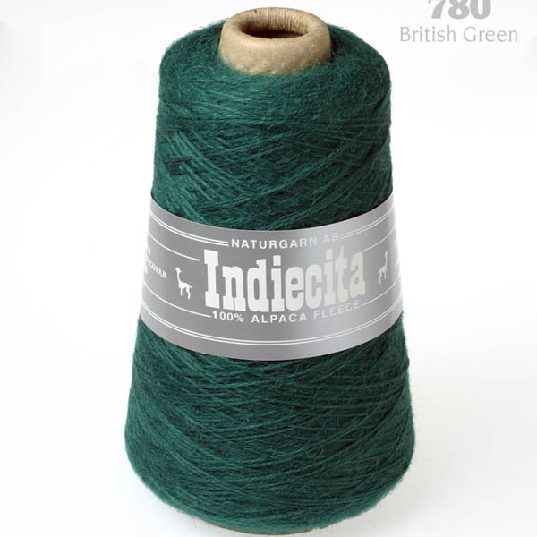 Indiecita kon 780 british green