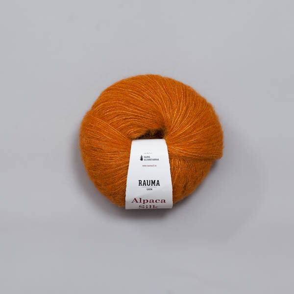 Rauma Alpaca Silk 0281 orange