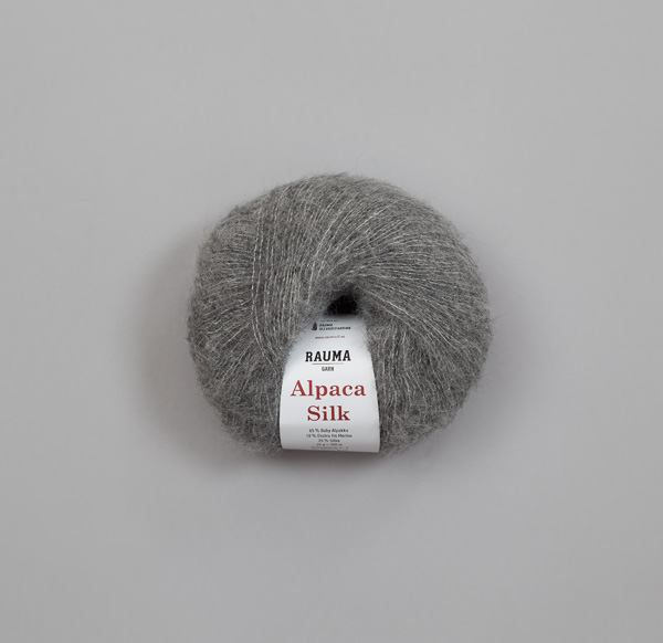 Rauma Alpaca Silk 1311 grå