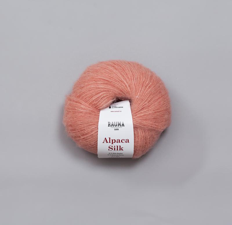 Rauma Alpaca Silk 0280 laxrosa