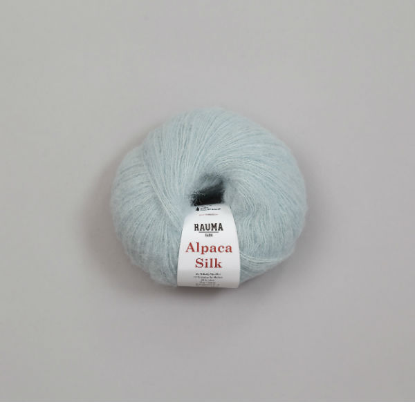 Rauma Alpaca Silk 5114 ljusblå