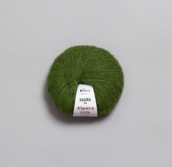 Rauma Alpaca Silk 5339 grön