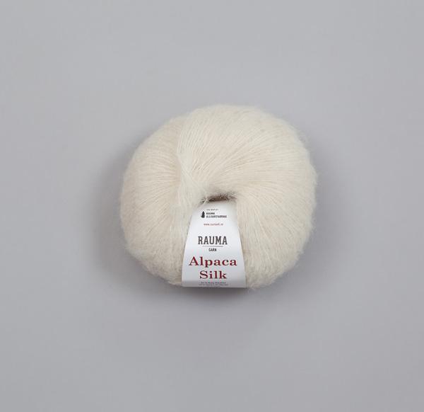 Rauma Alpaca Silk 0811 natur