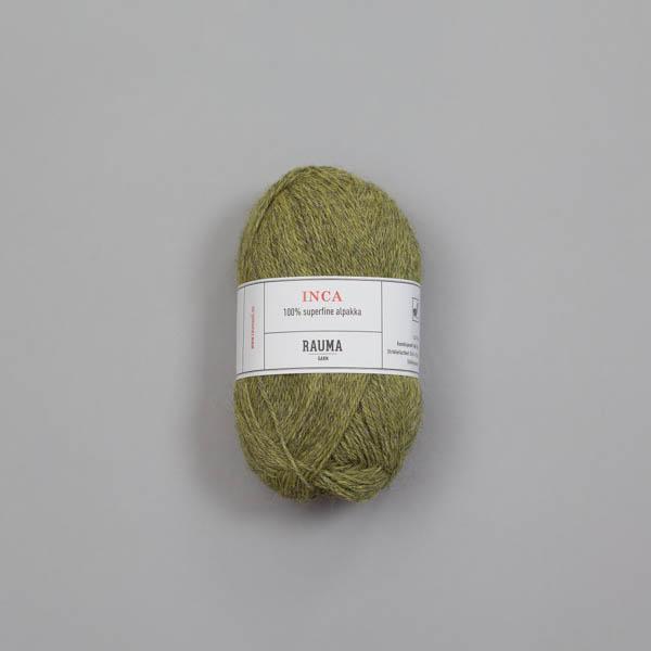 Rauma Inca 0743 äppelgrön melerad
