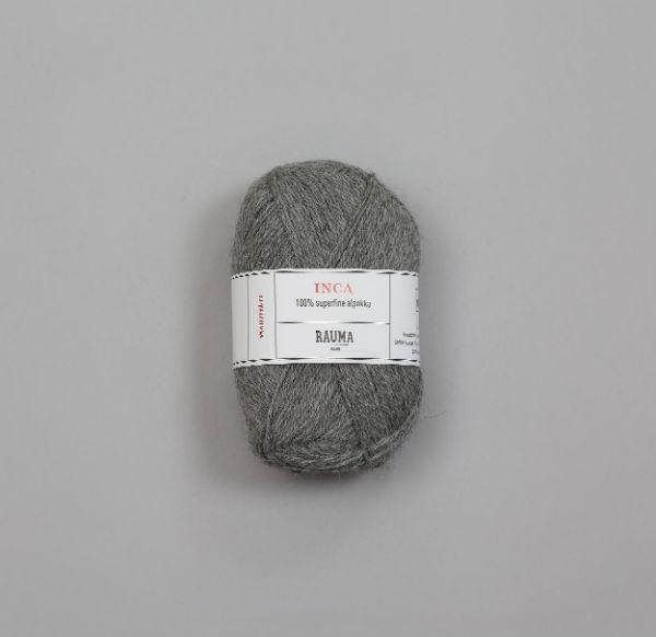 Rauma Inca 0042 grå melerad